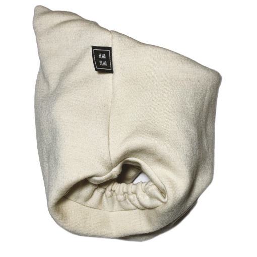White beige pull up nappy picture taken from the side