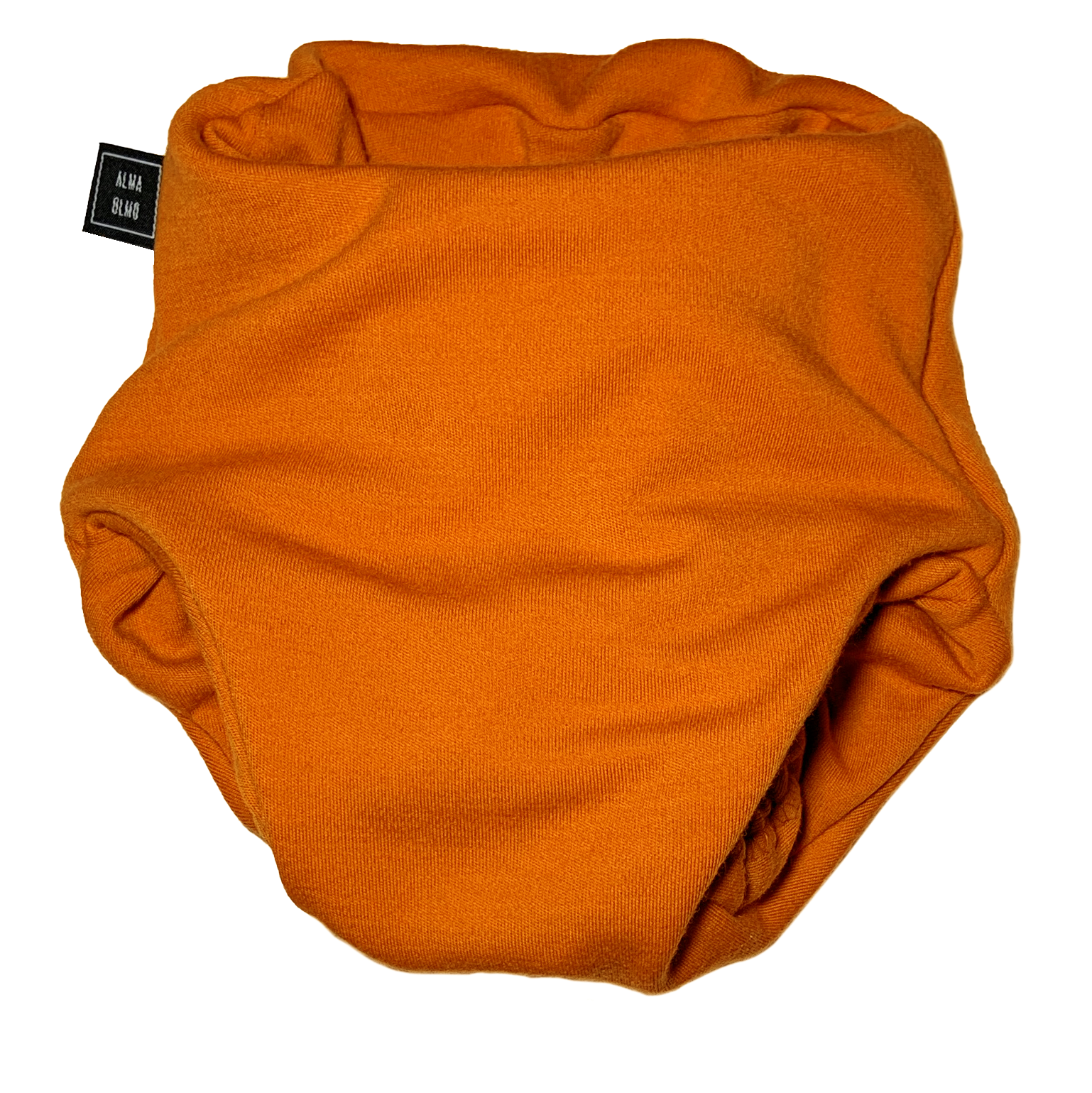 orange pull up nappy front